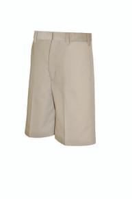 Boys Shorts - Flat Front - Khaki