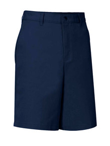 Boys Shorts - Flat Front - Navy
