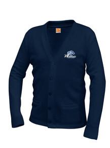 Unisex V-Neck Cardigan Sweater - Legacy
