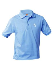 Jersey Knit Short Sleeve Polo Shirt - Regis