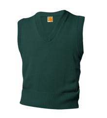 V-Neck Pullover Sweater Vest - Academy Charter