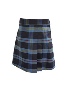 Girls Skort - 2 Pleat Front & Back - Plaid 9A