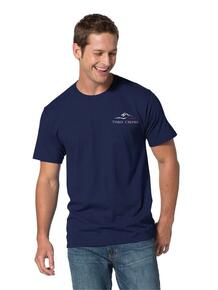 Men's Fan Favorite Tee with Three Creeks embroidery