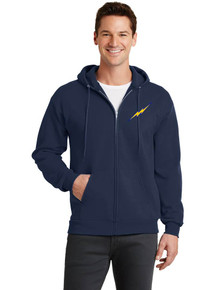 Pullover Hooded Sweatshirt w/Lightning Baseball Bolt