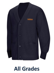 Unisex Cardigan Sweater - Vega