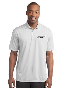Men's Moisture-Wick Micro-Mesh Polo with Lightning Embroidery