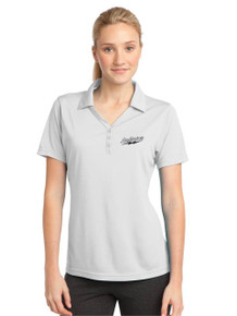 Ladies Moisture-Wick Micro Micro-Mesh Polo with Lightning Embroidery
