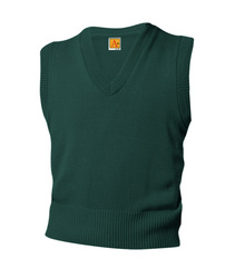 V-Neck Pullover Sweater Vest -  Littleton Academy