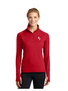 Ladies Smooth Texture 1/4 Zip - Regis