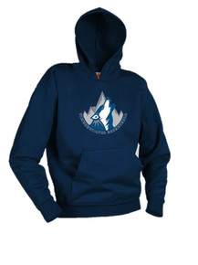Navy Hooded Sweatshirt - Pinnacle Charter School