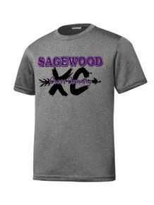 Vintage Heather Contender Tee - Sagewood Cross Country