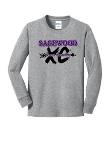 Long Sleeve Cotton Core Tee - Sagewood Cross Country