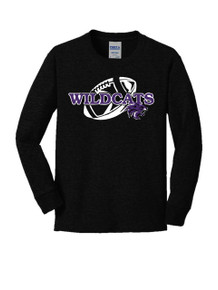 Long Sleeve Cotton Core Tee - Sagewood Football