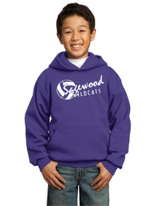 Hoodie Fleece Core - Sagewood Volleyball