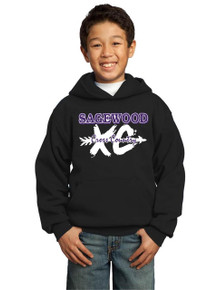 Hoodie Fleece Core - Sagewood Cross Country