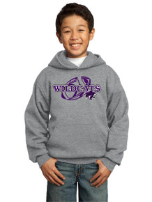 Hoodie Fleece Core - Sagewood Football
