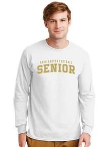 Unisex Gildan Long Sleeve Cotton T-Shirt - Rock Canyon Football Seniors