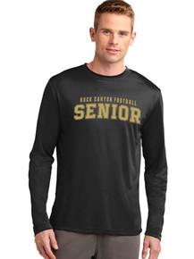 Long Sleeve Competitor Tee - Rock Canyon Football Seniors