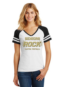 Ladies Game Tee - Rock Canyon Football Seniors