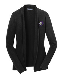 Port Authority Ladies Open Front Cardigan Sweater - North Arvada Middle School