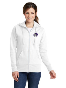 Ladies Fleece Full Zip Sweatshirt - North Arvada Middle School