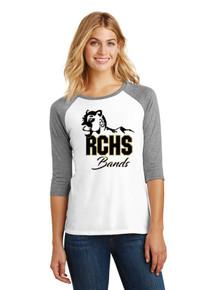 Ladies 3/4 Sleeve Raglan - RC Bands