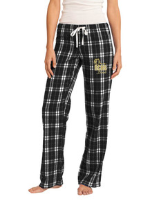 Black/White Juniors Flannel Pants - RC Bands