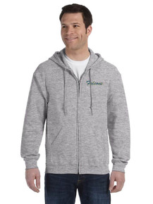 Gildan Full Zip Hooded Sweatshirt - Blessed Sacrament