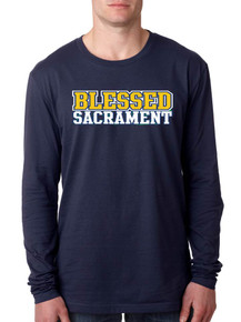 Adult Long Sleeve Next Level Tee - Blessed Sacrament