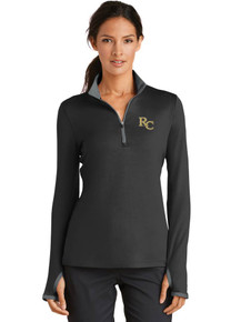 Ladies Nike Dri-Fit  1/4 Zip w/ Embroidery - RC Basketball