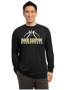 Dri-Fit  Male Cotton  Soft Performance Long Sleeve  T-Shirt - RC Basketball