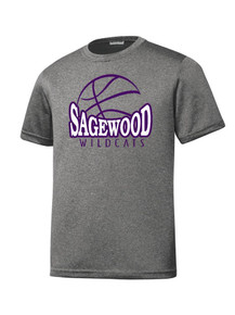 Vintage Heather Contender Tee - Sagewood Basketball