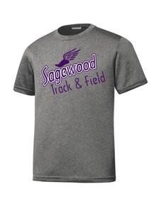 Vintage Heather Contender Tee - Sagewood Track