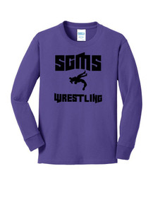 Long Sleeve Cotton Core Tee - Sagewood Wrestling