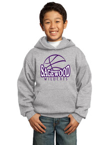 Hoodie Fleece Core - Sagewood Basketball