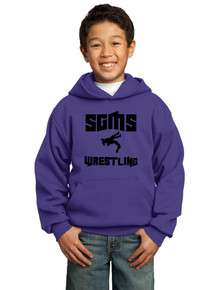 Hoodie Fleece Core - Sagewood Wrestling