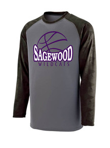 Augusta Long Sleeve Shooter Tee - Sagewood Basketball