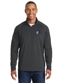 Embroidered Men's 1/4 Zip Smooth Pullover - North Arvada