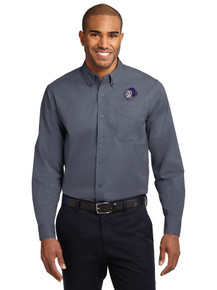 Men's Port Authority Long Sleeve Easy Care Polo - North Arvada Middle