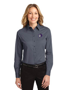 Ladies Port Authority Long Sleeve Easy Care Polo - North Arvada