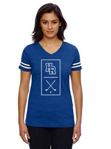 Ladies Fine Jersey T-Shirt - HRHS Golf