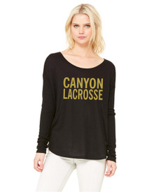 Ladies Bella+Canvas Flowy Dolman Long Sleeve - RC Lacrosse
