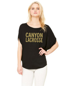 Ladies Dolman Flowy Top - RC Lacrosse