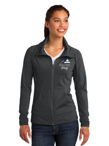 Women's Outerwear Sport-Wick Stretch Full Zip Jacket - w/Peak to Peak Staff Embroidery