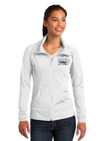 Female Outerwear Sport-Wick Stretch Full Zip Jacket - w/Peak to Peak  Embroidery