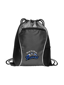 Cinch Bag Embroidered Logo - Peak to Peak
