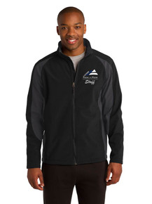 Male Outerwear Sport-Tek Soft Shell Jacket - w/Peak to Peak Staff Embroidery