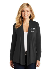 Female Long Sleeve Concept Shrug - w/Peak to Peak Staff Embroidery