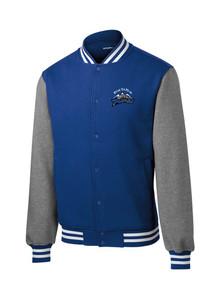 Men's Outerwear Letterman Fleece - w/Peak to Peak Embroidery