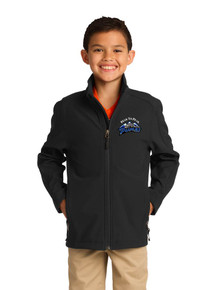 Kid & Adult Outerwear - Soft Shell Jacket - w/Peak to Peak Embroidery